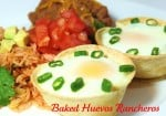 Baked Huevos Rancheros in tortillas LOL eggs