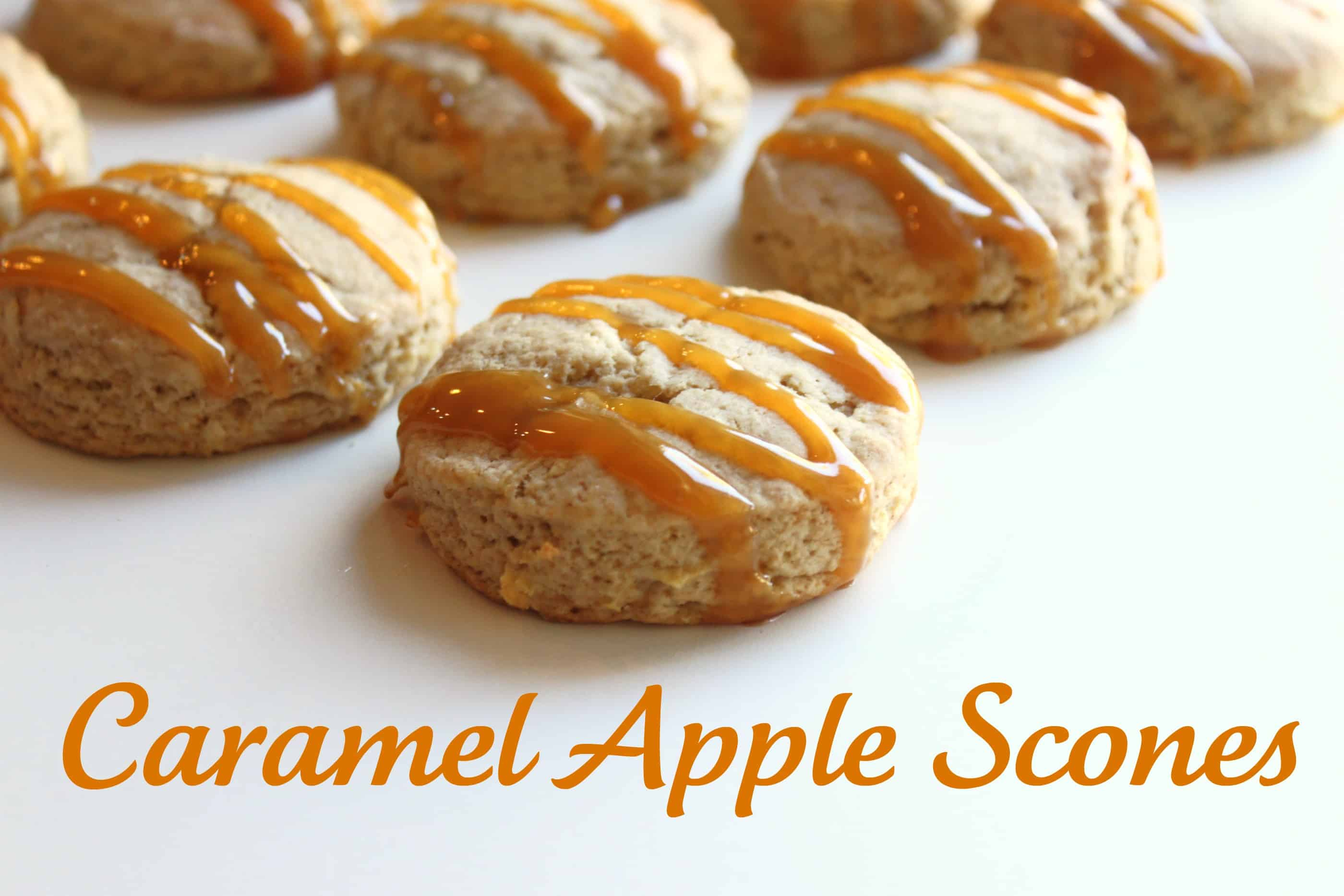 Caramel Apple Scone Recipe | Created by Diane