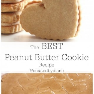 The best peanut butter cookie recipe www.createdbydiane.com