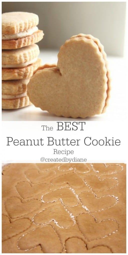 The best peanut butter cookie recipe @createdbydiane