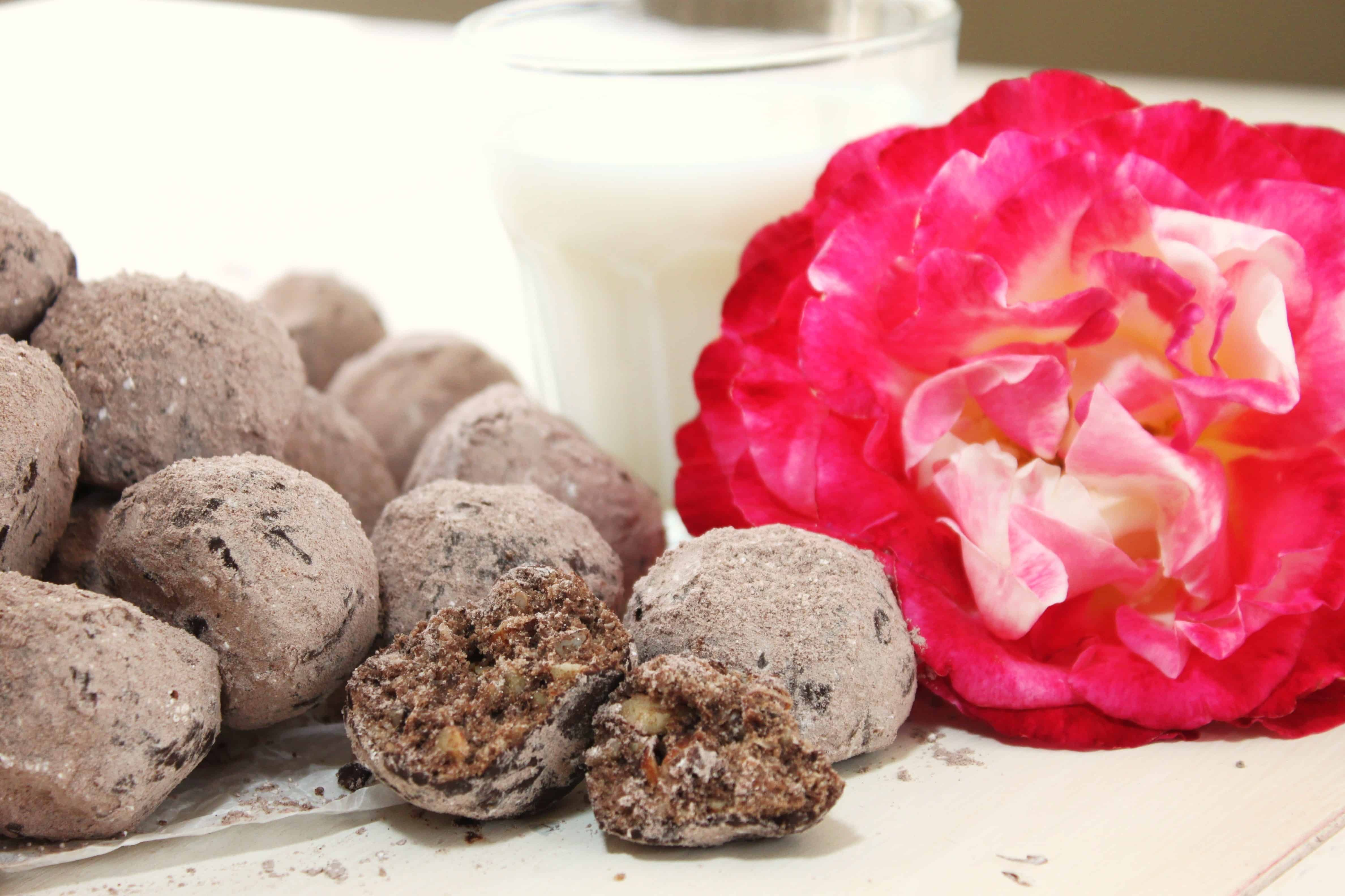 Chocolate Almond Wedding Cookie Recipe