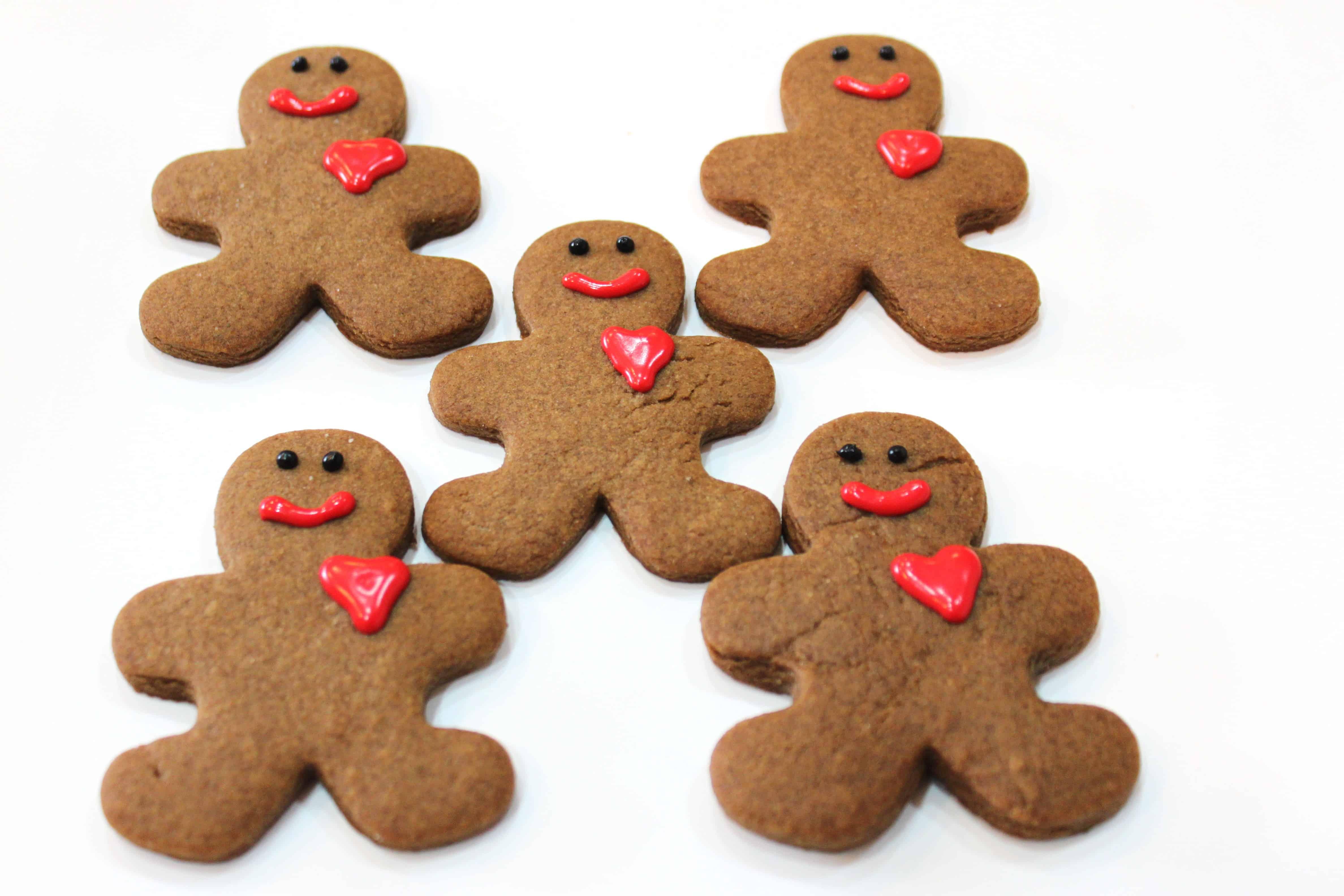Gingerbread Men Cookies Created By Diane