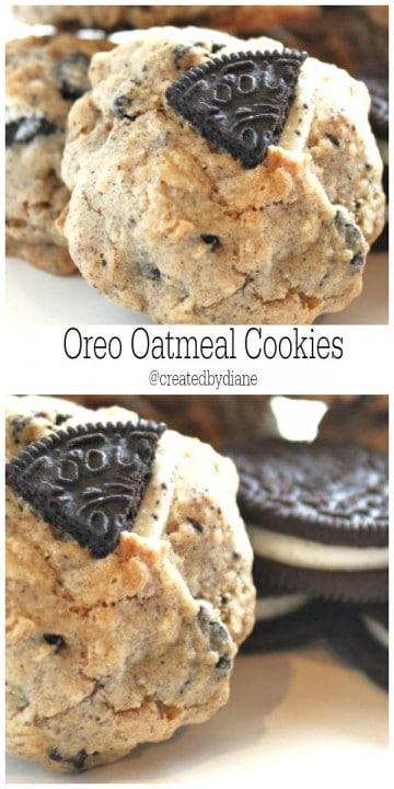 oreo oatmeal cookies @createdbydiane