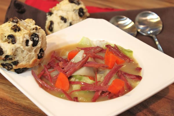 Corned Beef and Cabbage Soup Recipe | Created by Diane