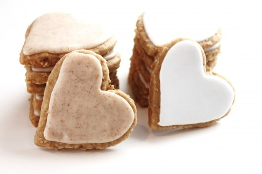 Iced Oatmeal Cut Out Cookies Created By Diane