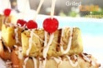 Grilled Cake and Pineapple-grilled-pina-colada
