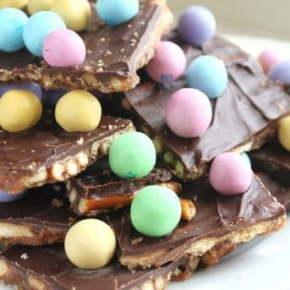 Easy Pretzel Toffee
