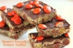 Reese's Peanut Butter Toffee Recipe
