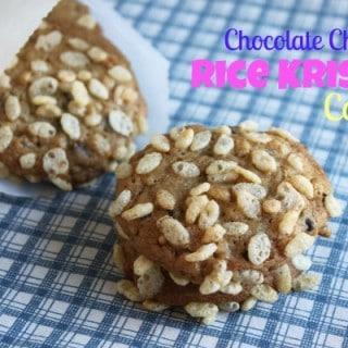 Chocolate Chip Rice Krispie Cookies
