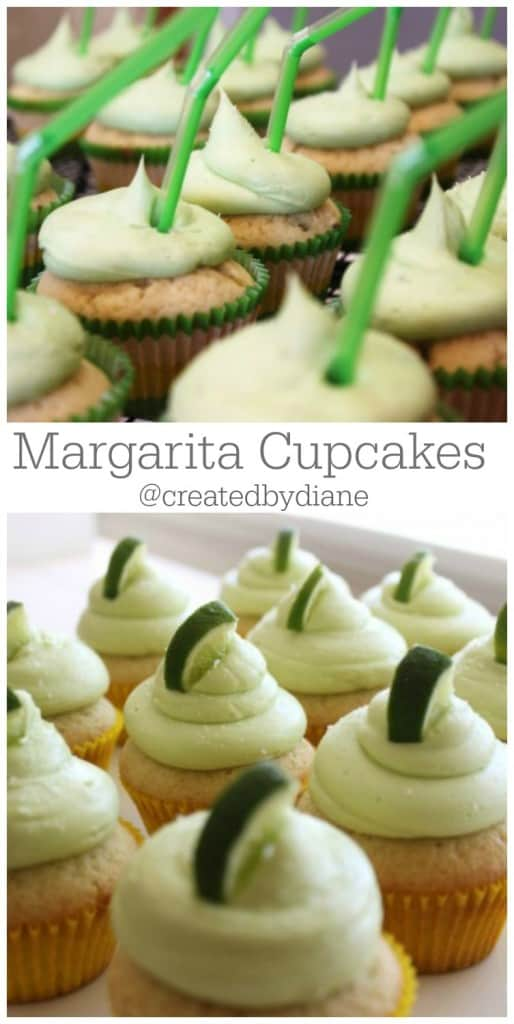 Margarita Cupcakes @createdbydiane