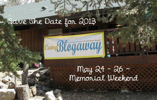 Save the 2013 date CampBlogAway
