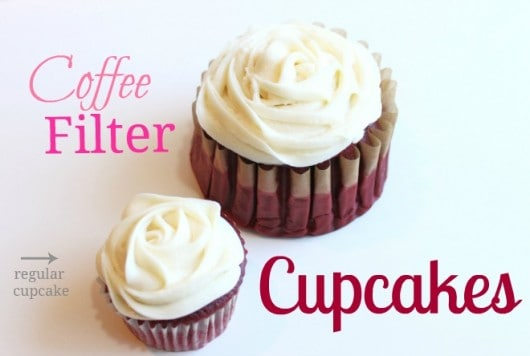 Coffee Filter Cupcakes Created By Diane
