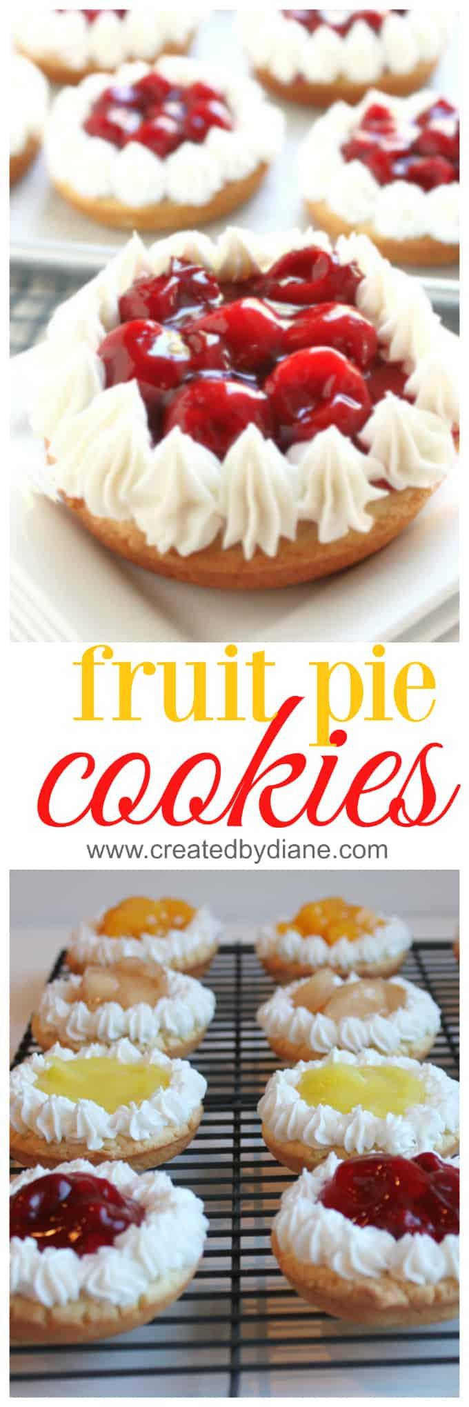 fruit pie cookies www.createdbydiane.com
