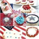 Red White and Blue Collage @Createdbydiane