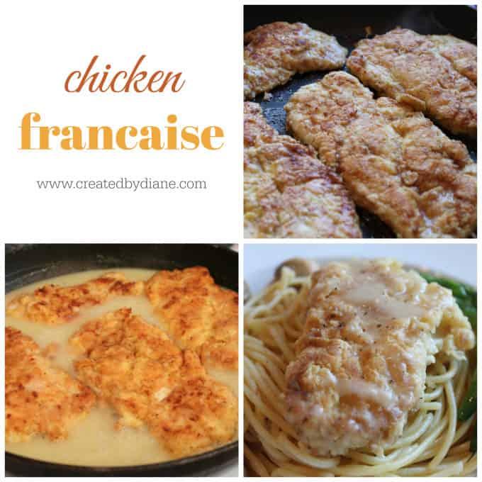 chicken francaise recipe www.createdbydiane.com