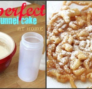 Perfect Funnel Cake at Home