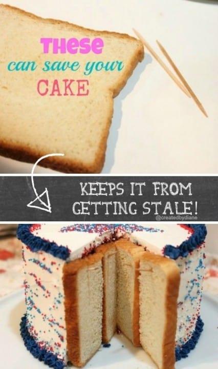 stale cake @createdbydiane