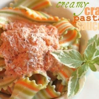 Creamy Crab Pasta Sauce
