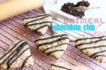 Oatmeal Chocolate Chipe Cut Out Cookies @createdbydiane