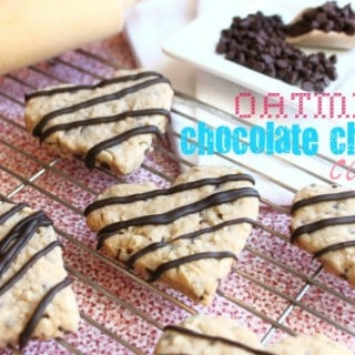 Oatmeal Chocolate Chip Cut Out Cookies