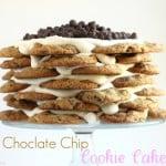 Chocolate Chip Cookie Cake Recipe @createdbydiane