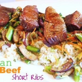 Asian Beef Short Ribs (Pressure Cooker Recipe)