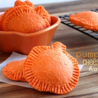 pumpkin cheesecake hand pies from @createdbydiane