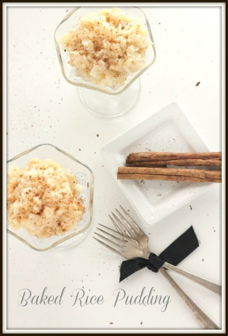 Baked Rice Pudding in Reynolds Baking Bags from @createdbydiane
