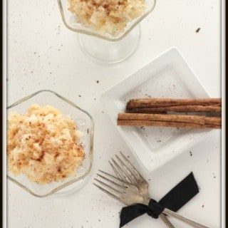 Baked Rice Pudding from @createdbydiane