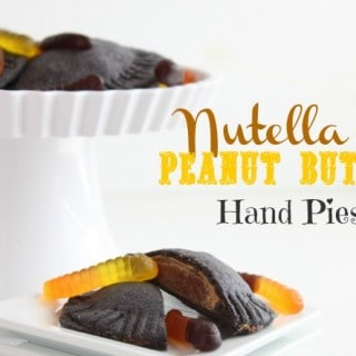 Nutella and Peanut Butter Hand Pies @createdbydiane