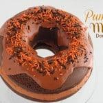 Pumpkin Mocha Donut Cake @createdbydiane