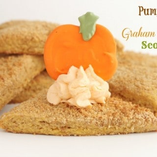 Pumpkin and Graham Cracker Scones @createdbydiane