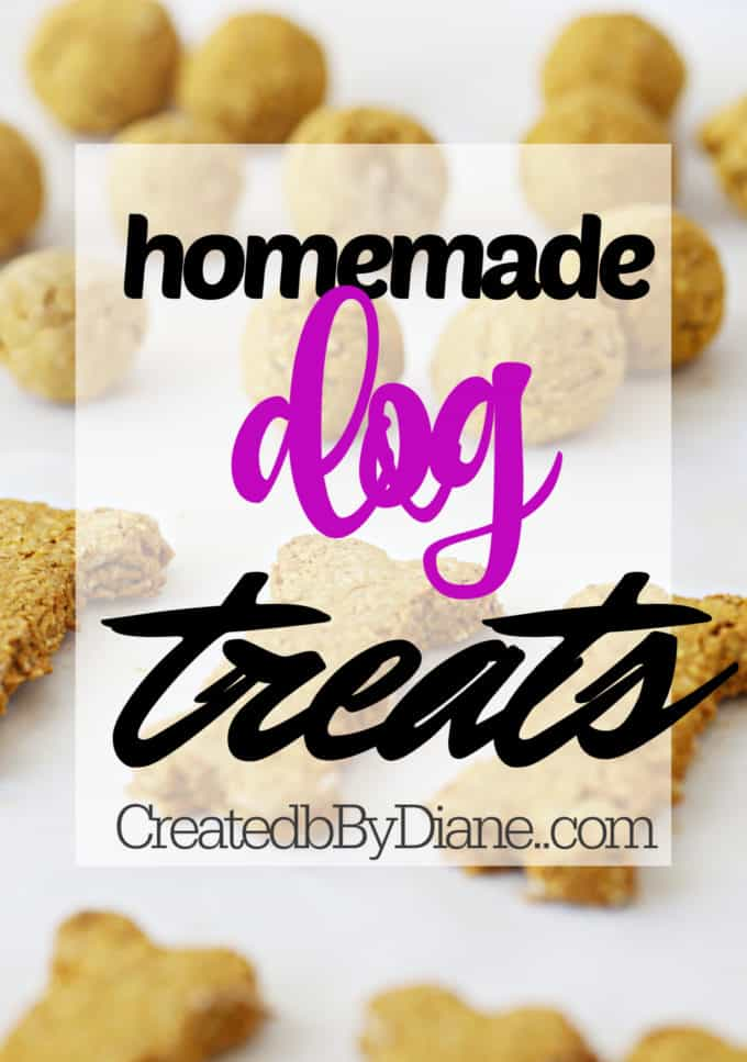 gluten free dog treats with oatmeal and pumpkin createdbydiane.com