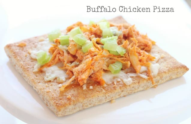 Buffalo Chicken Pizza @createdbydiane