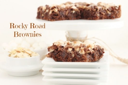Rocky Road Brownies @createdbydiane