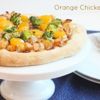 Orange Chicken Pizza @createdbydiane