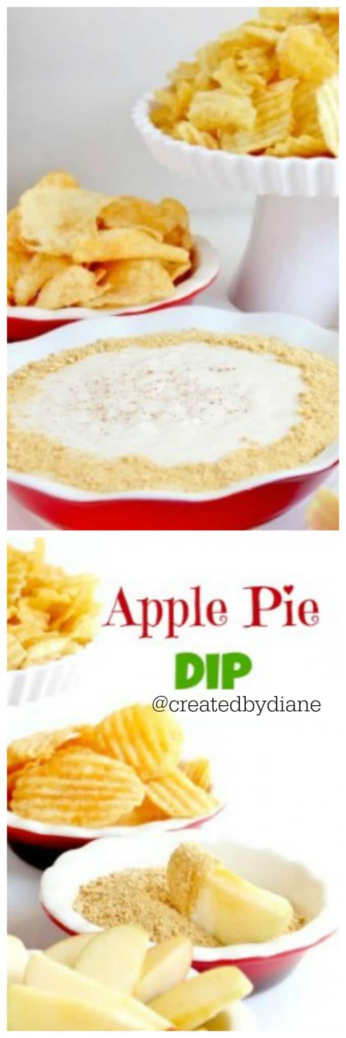 apple pie dip @createdbydiane