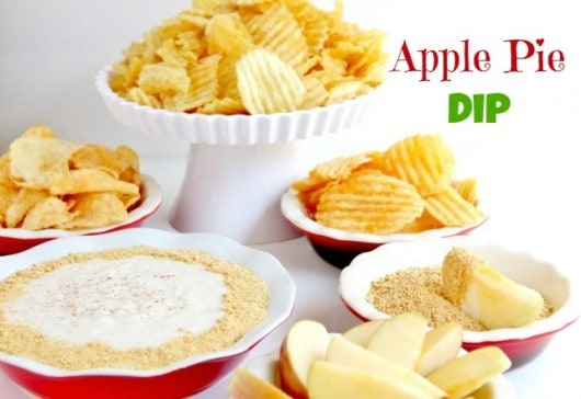 apple pie dip recipe with Kettle Chips @createdbydiane