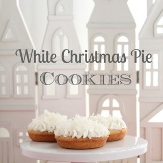 white christmas pie cookies from @createdbydiane