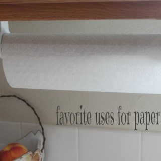 Kitchen Tips: favorite uses for paper towels