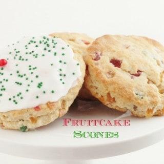 Fruitcake Scones