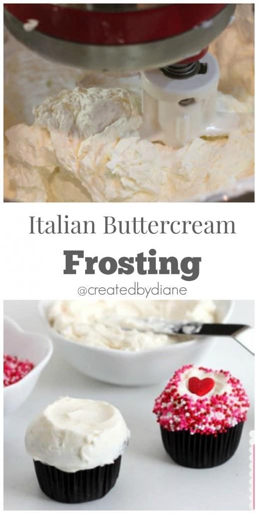 Italian Buttercream Frosting @createdbydiane