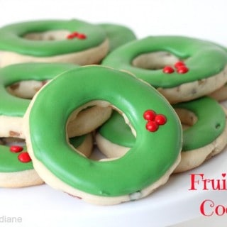fruitcake Cut Out Cookies@createdbydiane