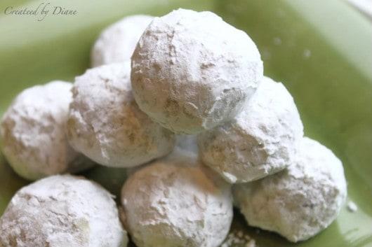 snowball cookies createdbydiane.com