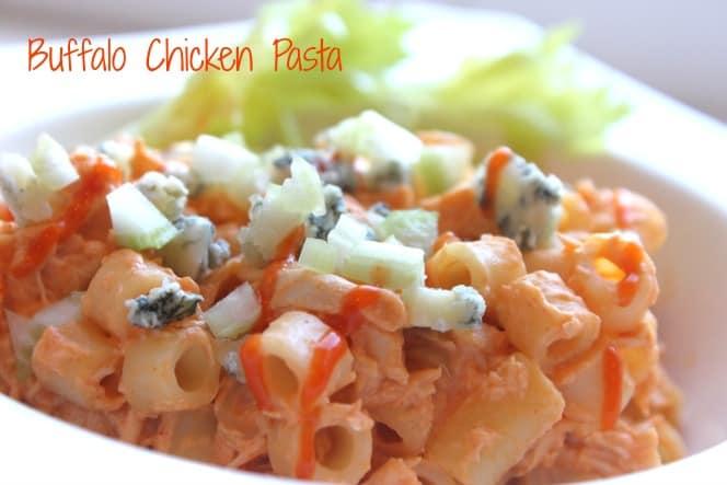 Buffalo Chicken Pasta @createdbydiane