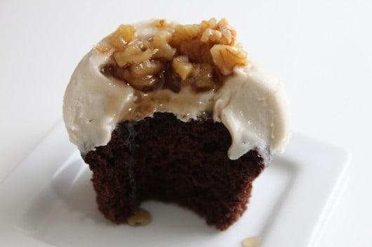 Maple Chocolate Cupcakes