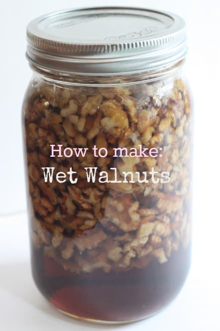 How to Make- Wet Walnuts @createdbydiane