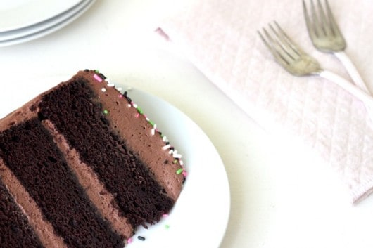 Chocolate Cake Recipe with Coffee and cinnamon