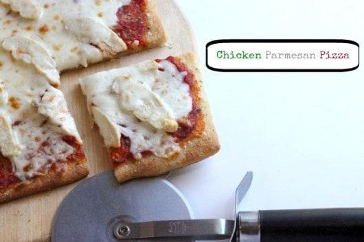 Chicken Parmesan Pizza @createdbydiane