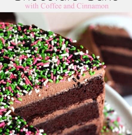 Chocolate Cake with Coffee and Cinnamon @createdbydiane